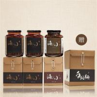 海三小-對味首選-海三小頂級XO干貝醬200克X2+XO小管醬200克X1贈送陽光屋日曬手路麵文創盒1盒