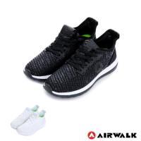 美國 AIRWALK 破冰 網眼透氣雙層大底輕量運動鞋-男女款-共兩色