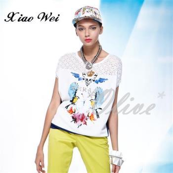 CHENG DA 春夏專櫃精品女裝時尚流行短袖上衣 NO.686345