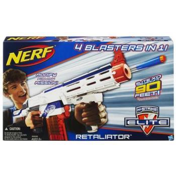 【 美國 Hasbro / NERF 樂活打擊 】復仇者四合一衝鋒槍