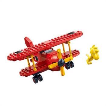 【BanBao 積木】史努比系列-紅男爵戰機 7523
