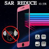 iPhone6 認證防電磁波螢幕玻璃貼/ 滿版螢幕保護貼(香檳金/玫瑰粉 2色可選)