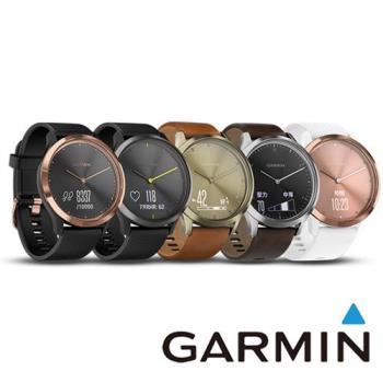 GARMIN vivomove HR 時尚心率智慧腕錶 - 運動款
