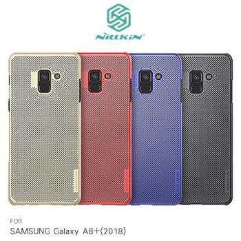 NILLKIN SAMSUNG Galaxy A8+(2018) 立透散熱手機殼