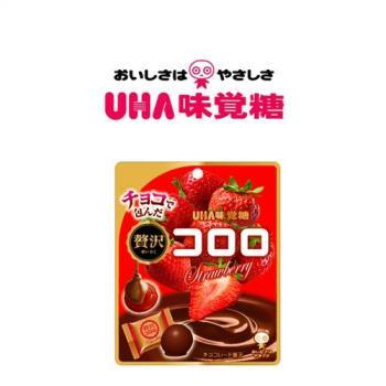 UHA 日本味覺糖-巧克力草莓軟糖41g x6包