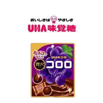 [UHA]日本味覺糖巧克力葡萄軟糖(41gX6包/組)