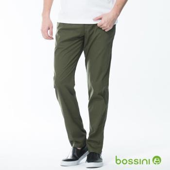 bossini男裝-輕便長褲01軍綠