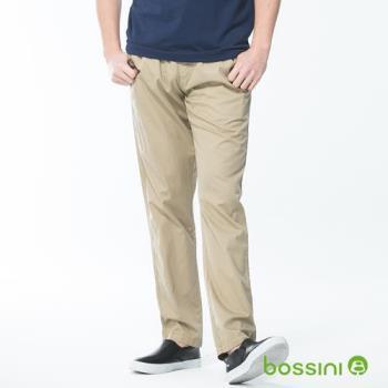 bossini男裝-輕便長褲01卡其