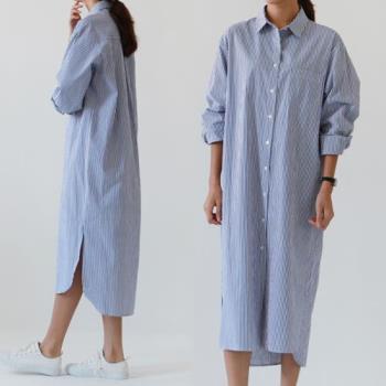 韓國K.W. 歐戀氣質線條美型外套洋裝二用