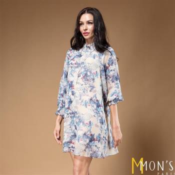 MONS法式絢麗可人層次感洋裝