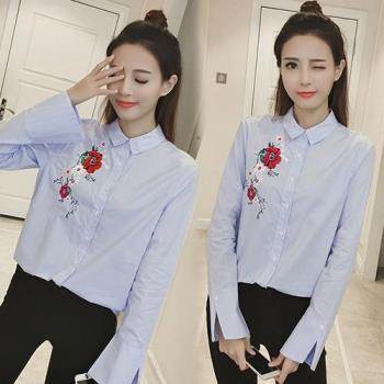 韓國K.W. 韓流時當線條袖型上衣