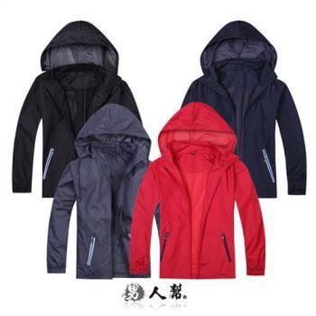 【男人幫】防風防潑水多功能連帽外套 (P9988)