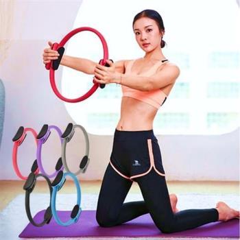 普拉提圈 健身器 瘦腿神器 瘦腰 輔助器 豐胸器 瑜珈輪 魔力圈