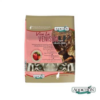 【Addiction】自然癮食 無穀鹿肉寵食 貓糧 1.8公斤 X 1包