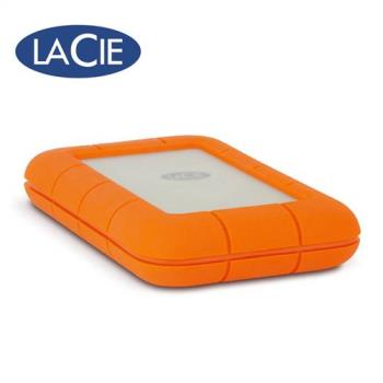 LaCie Rugged® Thunderbolt™ USB-C 500GB 2.5吋外接固態硬碟