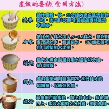 金廣農場 白米+糙米+胚芽米(2公斤)(各2入)