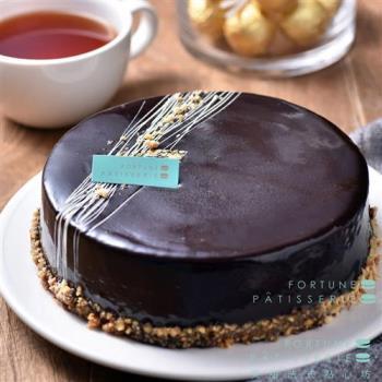芙甜法式點心坊 經典巧克力蛋糕6吋 x2入