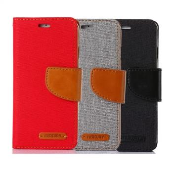 Samsung Galaxy Note 5 韓風雙色牛仔紋皮套 側掀磁扣支架式皮套 矽膠軟殼 抗震耐摔 紅灰黑多色選擇