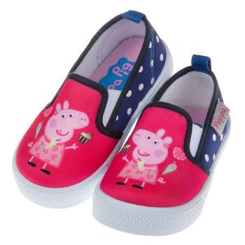 《布布童鞋》粉紅豬小妹佩佩豬亮麗桃兒童休閒鞋室內鞋(14~18公分) [ A7T509H ] 桃色款