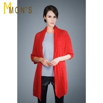 MONS買1送1超值組 -皇家御用羔羊披肩/圍巾