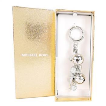 MICHAEL KORS BELL CHARM 鈴鐺鑰匙圈(銀/盒裝)