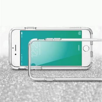 Apple iPhone SE 高質感雙料材質 透明TPU+PC手機殼/保護套