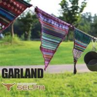 韓國SELPA 繽紛飾品-三角旗掛飾