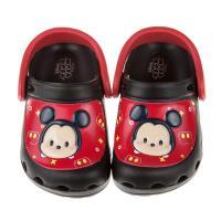 《布布童鞋》Disney迪士尼tsumtsum米奇黑色兒童布希鞋(15~22公分) [ D7T012D ]