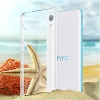 hTC Desire 830 晶亮透明 TPU 高 軟式手機殼 保護套 光學紋理 防指紋