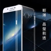 三星 Samsung Galaxy A8 輕薄透明 TPU 高 軟式手機殼 保護套 微凸鏡