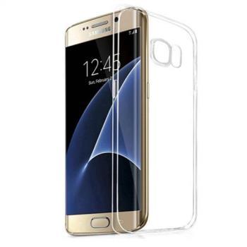 三星 Samsung Galaxy S7 edge 輕薄透明 TPU 高質感軟式手機殼/保護套 微凸鏡頭保護 防塵塞設計