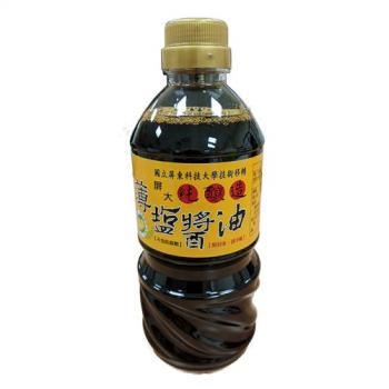 屏科大純釀造非基改薄鹽醬油 4瓶 (560ML/瓶)