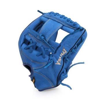 MIZUNO 壘球手套-棒球 美津濃 藍