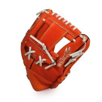 MIZUNO 少年用手套-棒球 壘球 美津濃 橘