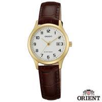 ORIENT東方錶  典雅復古風石英女錶-白x28mm  FSZ3N003W0