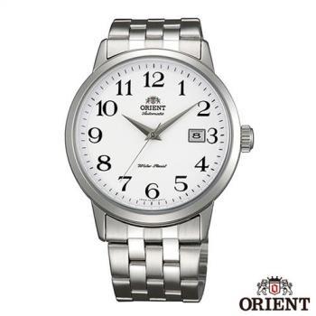 ORIENT東方錶 魅力型男自動上鍊機械腕錶-白x41mm FER2700DW0