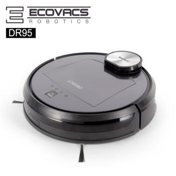 ECOVACS 雷射導航 DR95智能清潔機器人贈三年配件+擦窗機