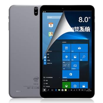 iPlug Hi8 Air~8吋Intel四核心Windows-10+Android雙系統FHD平板電腦