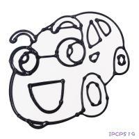 【愛玩色 館】 MIT兒童無毒彩繪玻璃貼- 小張圖卡 - 汽車 ipcpS19 - 製