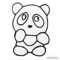 【愛玩色 館】 MIT兒童無毒彩繪玻璃貼- 小張圖卡 - 熊貓 ipcpS02 - 製