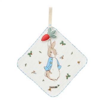 奇哥  Peter Rabbit 比得兔田園趣造型掛式手帕組-2色選擇