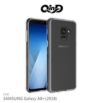 QinD SAMSUNG Galaxy A8+(2018) 雙料保護套