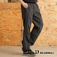 【Dreamming】機能款輕薄透氣鬆緊腰登山休閒運動長褲(共二色)
