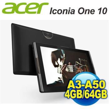 宏碁 Acer Iconia Tab 10 (A3-A50) 10.1吋FHD六核心大平版 4G/64G版