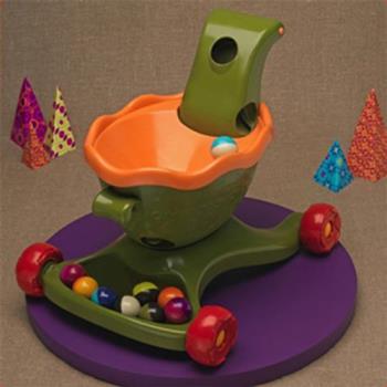 【美國 B.Toys 感統玩具】寶寶滾球學步樂