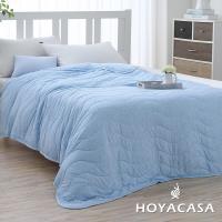 HOYACASA 樂活主義 莫代爾針織涼感夏被二入(1+1超值組)-型(網)