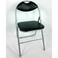 BROTHER 兄弟牌 卡羅有背折疊椅6入-黑色