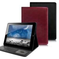 Apple 蘋果 AISURE iPad2 / iPad3 / iPad4 典雅簡約可立插卡皮套