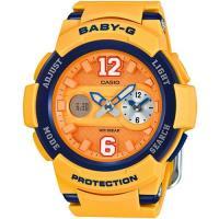 CASIO Baby-G 街頭運動錶 BGA-210-4B 黃
