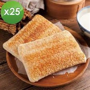 中二廚 千層芝麻大燒餅25片(90g/片)